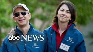 Amazon founder, wife announce they're divorcing after 25 years