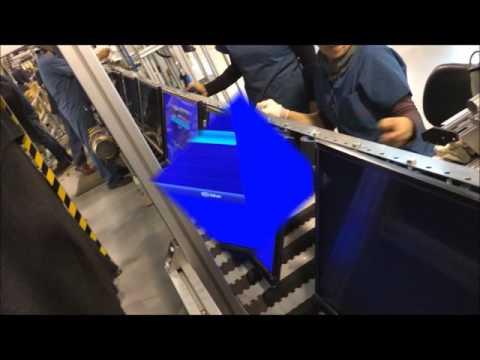BCK modulaire kettingtransporteur met stroomvoorziening