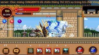 Ninja School Online: Đao 130 Đi Pk Thiên Thiên Bảng ✔