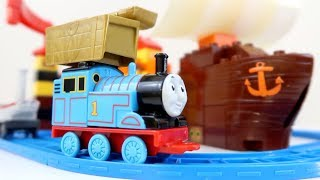 Mega Block Thomas & Friends Hidden Treasure Adventure Playset Toy | Learn Colors with Thomas Train