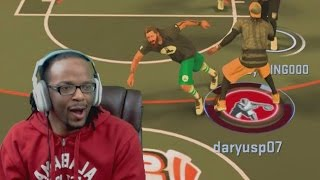 INSANE ANKLE BREAKER HAD HIM LEANING! - NBA 2K17 My Park Gameplay
