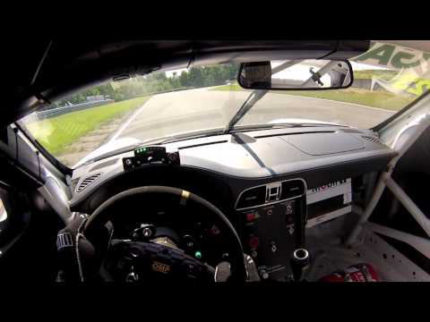 Ola Nilsson, Helmet camera Porsche Carrera Cup - Falkenberg