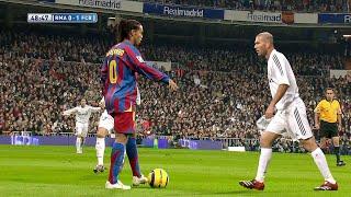 Ronaldinho & Zidane Showing Their Class in 2005
