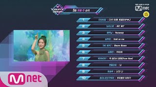 What are the TOP10 Songs in 3rd week of May? M COUNTDOWN 190516 EP.619