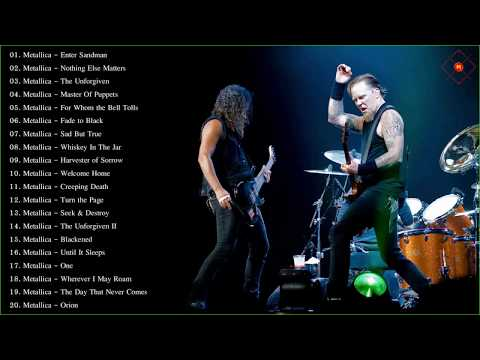 Metallica Greatest Hits Full Album 2019 - Best Of Metallica - Metallica Full Playlist