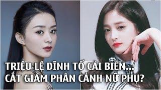 """Fan Chu Khiết Quỳnh đăng đàn tố Triệu Lệ Dĩnh,""""Hữu Phỉ"""" tiến hành cắt giảm phân cảnh nữ phụ"""