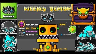 BEATING THE WEEKLY DEMON, OPENING ALL NEW CHESTS, and SPENDING 300K ORBS ON THE SHOP! | GD 2.11!