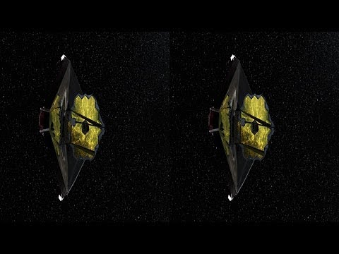 Pan Past JWST at L2 Point in 3D - Hubble Site