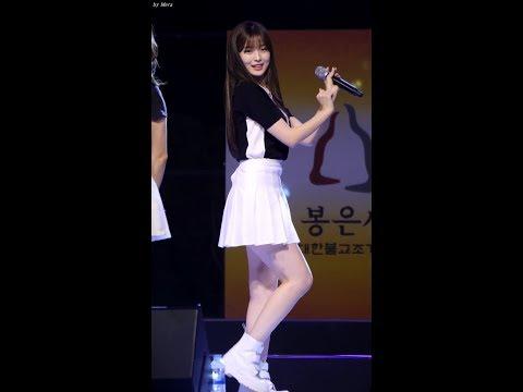 170904 오마이걸 (OH MY GIRL) WINDY DAY [아린] Arin 직캠 Fancam (봉은사) by Mera