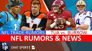 NFL Trade Rumors: Cam Newton, Andy Dalton & Nick Foles + NFL Rumors On Taysom Hill & Devonta Freeman