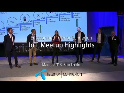 IoT meetup March 2018 Highlights