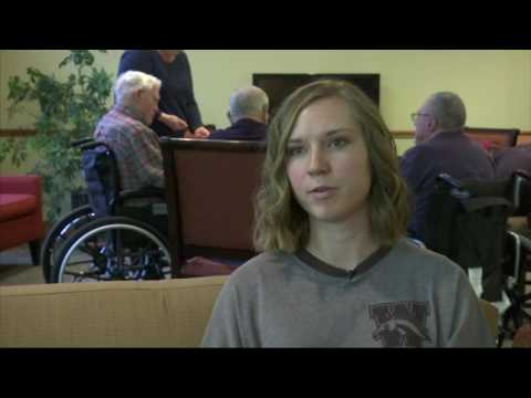 Students Take Up Residence in Retirement Homes