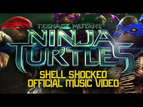 "Official Video for Teenage Mutant Ninja Turtles ""Shell Shocked"" Rap"