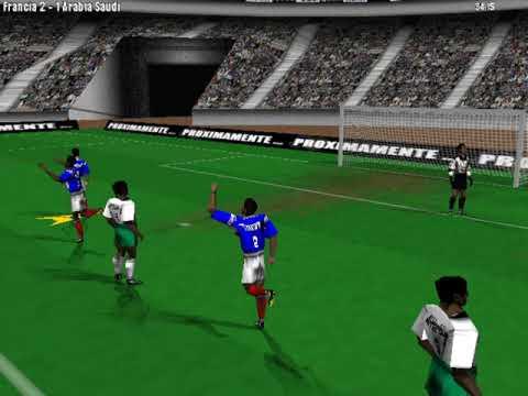 PC Fútbol Selección Española Mundial '98 (Mundial '98) (Dinamic) (Windows) [1998] [PC Longplay]
