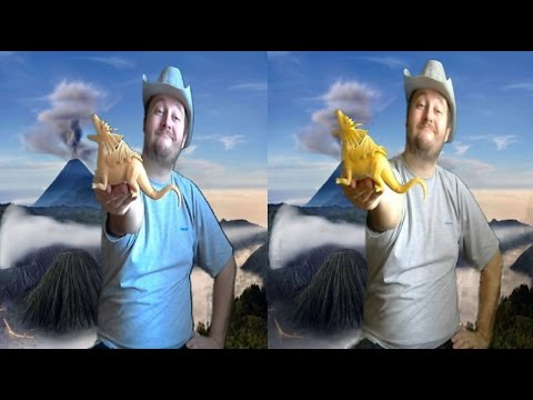 Snakes and Dragons in 3D ! Myth and Reality ! 3D VIDEO ( side-by-side )