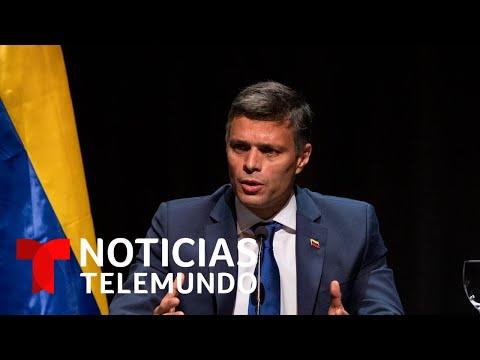 Leopoldo López confía en la postura que adoptará Joe Biden | Noticias Telemundo