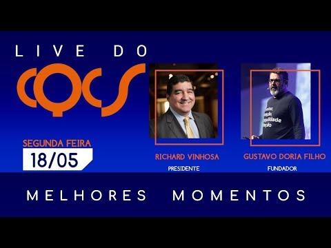 Imagem post: Planos, produtos e futuro. Confira os melhores momentos da live com Richard Vinhosa