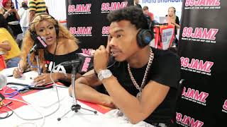 SUPA CINDY INTERVIEWS LIL BABY| LIL BABY interview |™SUPA CINDY