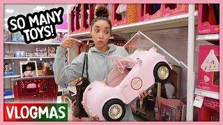 Christmas Gift Shopping Spree for Ziya!   Vlogmas Ep. 6