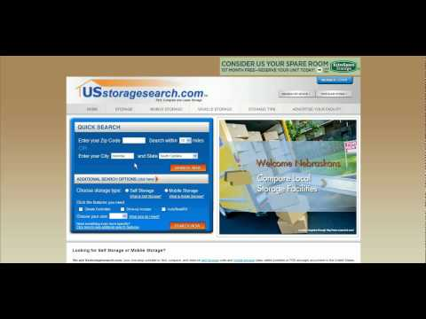 Find Self Storage In Columbia, SC Using USstoragesearch.com