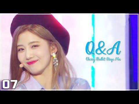 체리블렛(Cherry Bullet) - Q&A(큐엔에이) 교차편집(Stage Mix)