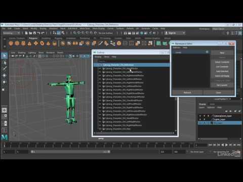 Maya: Time Editor | Move data between characters