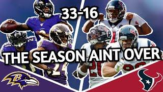 Houston Texans vs Baltimore Ravens Film Breakdown | NO NEED TO PANIC | NFL Week Two
