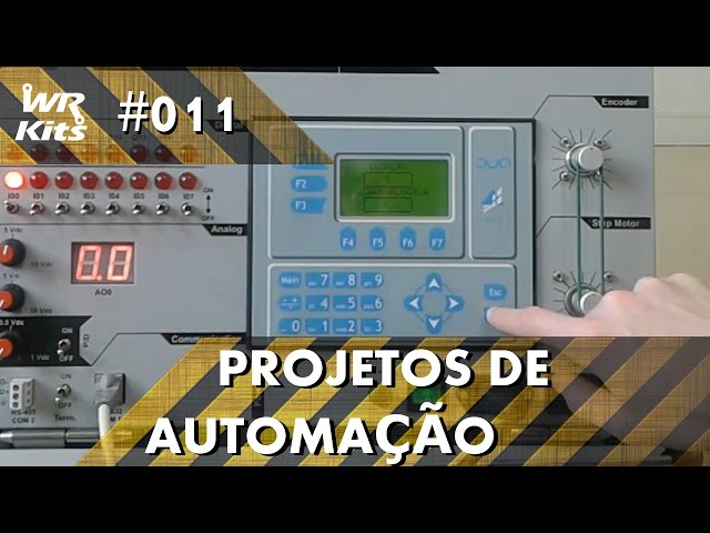 MEDINDO RPM DE UM MOTOR NO CLP ALTUS DUO | Projetos de Automação #011