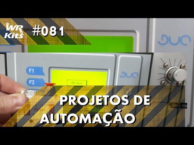 CONTROLE DE ÂNGULO DE MOTOR DE PASSO (parte 1) | Projetos de Automação #081