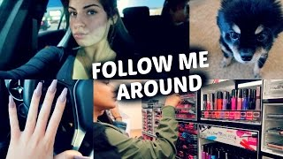 FOLLOW ME AROUND♡ NEW NAILS + SHOPPING
