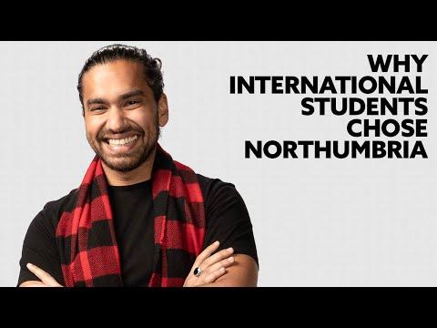Why International Student's chose Northumbria University & Application & Accommodation advice.