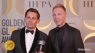 Benji Pasek, Justin Paul - Winners Stage