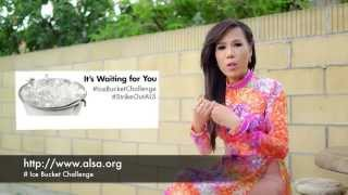 Mai Thien Van Doing Ice Bucket Challenge