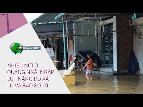 Thời sự nông thôn 8/11/2020: Nhiều nơi ở Quảng Ngãi ngập lụt nặng do xả lũ và bão số 10   VTC Now