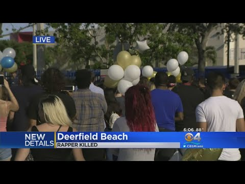 Vigil Held For Dead Rapper XXXTentacion