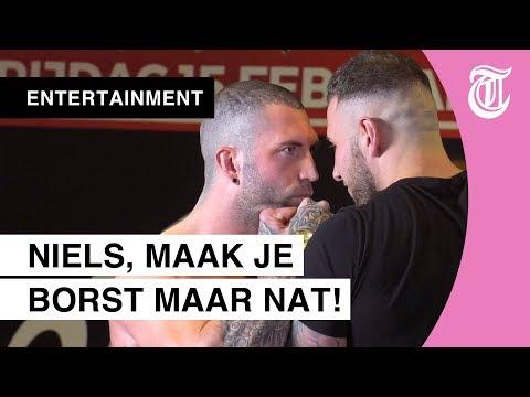 Temptation-Niels en Alex door het lint bij staredown