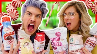 THE PEPPERMINT CHALLENGE! w/ Gabbie Hanna