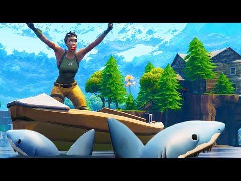 SHARK ATTACK TRAP! | Fortnite Battle Royale