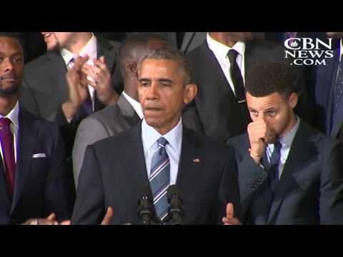 Obama Honors Golden State Warriors, Stephen Curry