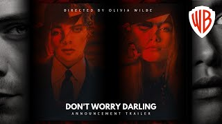 Don't Worry Darling (2021) Trailer | Harry Styles, Olivia Wilde & Florence Pugh Movie Concept | WB