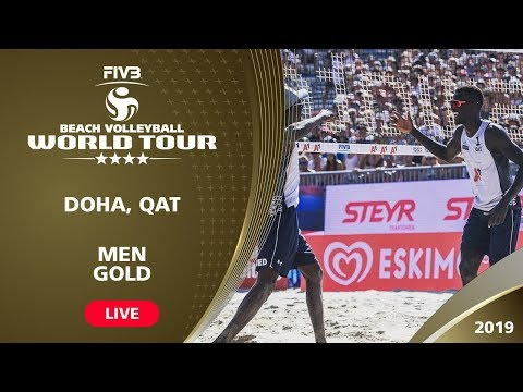 Doha 4-Star 2019 - Men Gold - Beach Volleyball World Tour