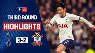 Late Winner Seals Comeback For Spurs | Tottenham Hotspur 3-2 Southampton | Emirates FA Cup 19/20