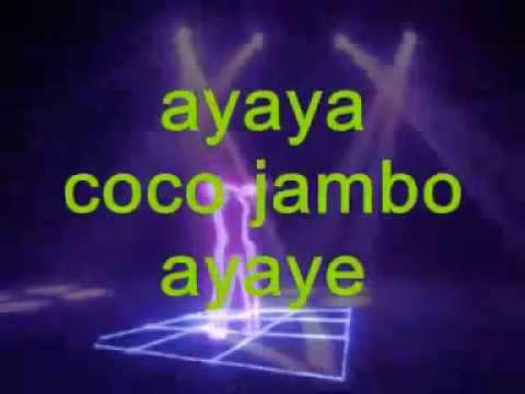 Angelo Cavallaro - Coco Jambo (Versione napoletana) -Testo-.avi