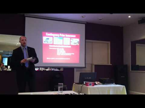 10 minute presentation from Max, Owen & Ewing Insurance Brokers, at Pegasus BNI