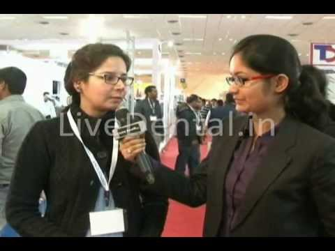 LiveDental.in | Dr. Dipti Dua in Expodent International 2012