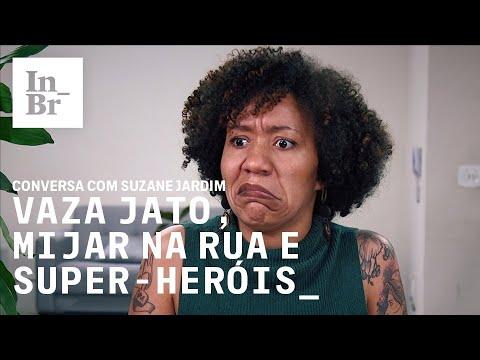 Vaza Jato, mijar na rua e super-heróis: conversa com Suzane Jardim