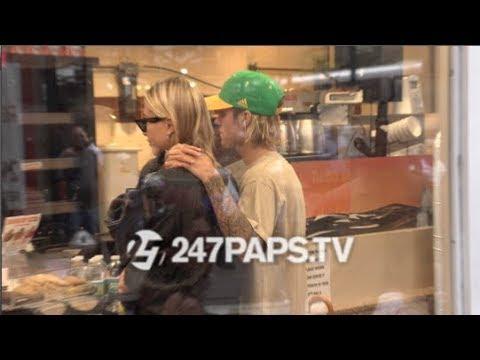 Justin Bieber and Hailey Baldwin Drive around NYC 081418