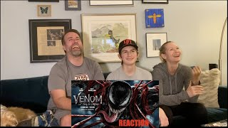 Venom Let There Be Carnage   Official Trailer REACTION !!!   HD 1080p
