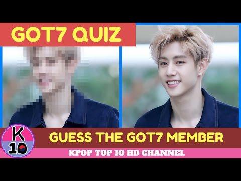 [GOT7 QUIZ] GUESS THE GOT7 MEMBER?