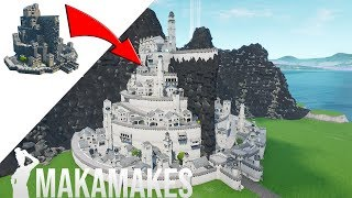 REBUILDING my first ever map! EPIC transformation! | Minas Tirith in Fortnite Creative